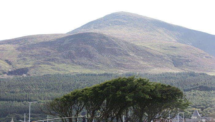 Slieve Donard in County Down