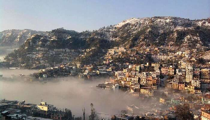 view of the solan city