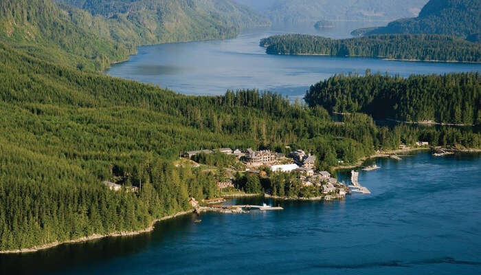 Beautiful Sonora Resort in British Columbia