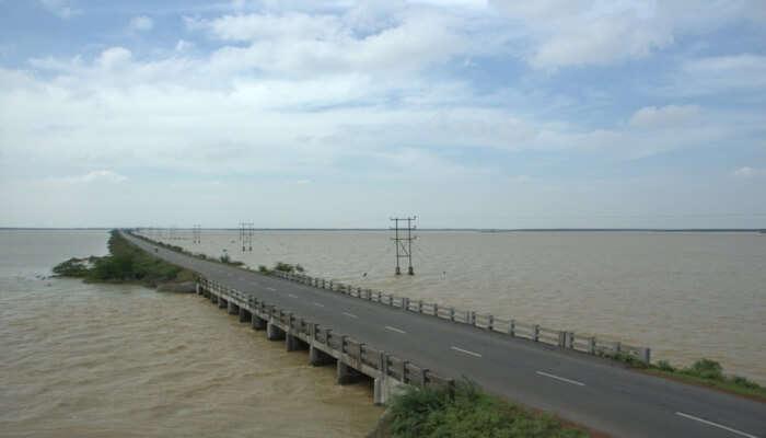 Amazing view of Sriharikota