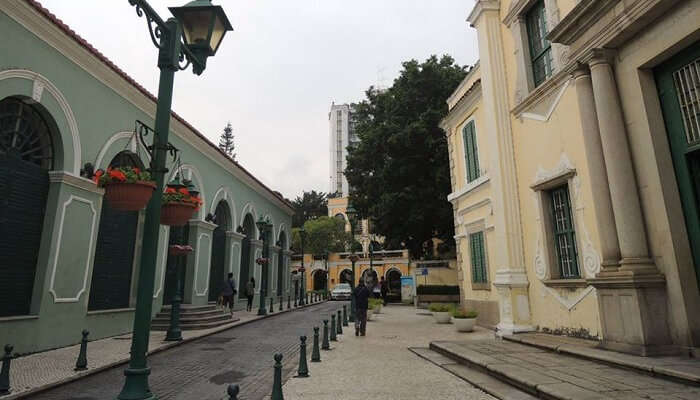 St Augustine's Square Macau