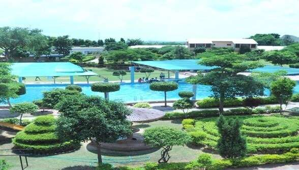 naturopathy resort as well as a water park