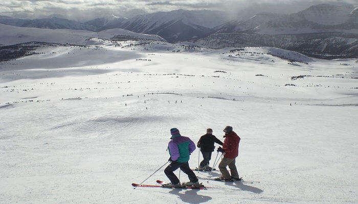 Sunshine Village Ski Resort