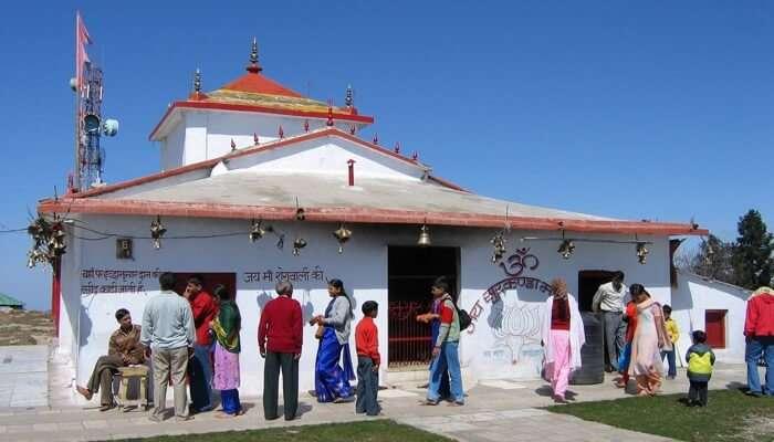 Surkanda Devi Temple mussoorie