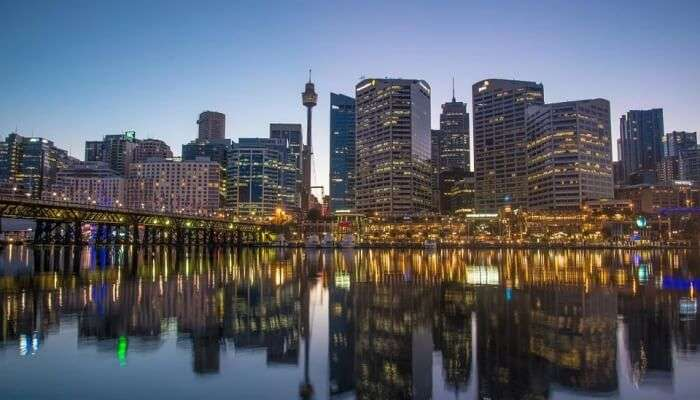 Sydney Tower to enjoy an amazing view of the city