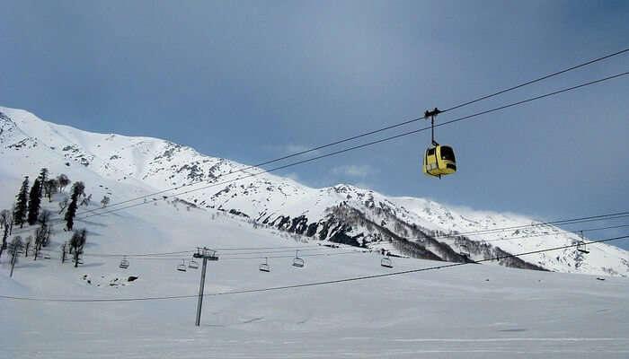 Take A Ride On The Gulmarg Gondola