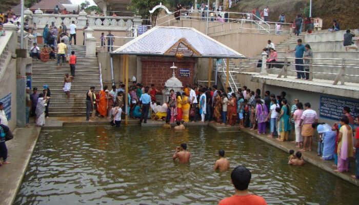 Holy Bath, Talacauvery, Coorg
