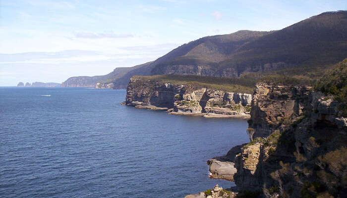 Tasman Peninsula in Tasmania