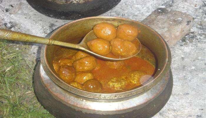 authentic dish