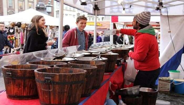 Taste The Food In The Genussfestival Food Fair