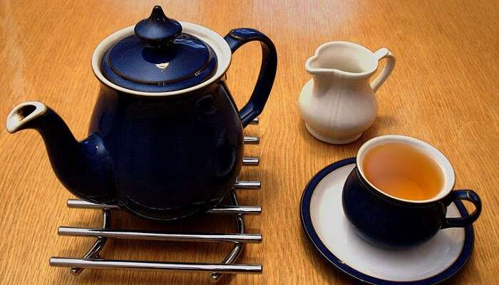 Teapot And Cups In London