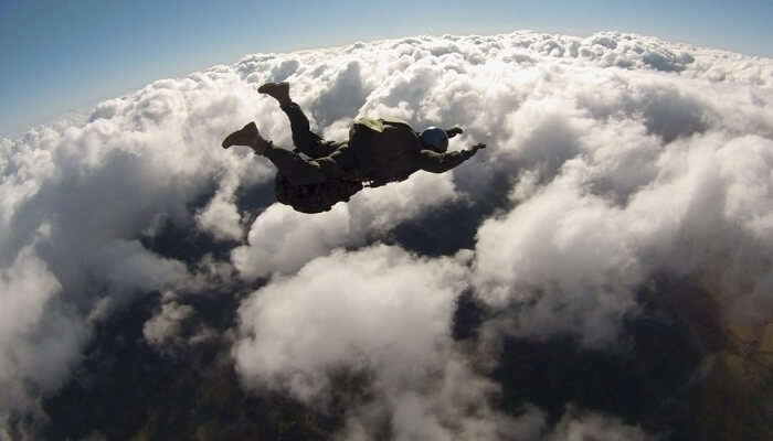 fantastic skydiving experience