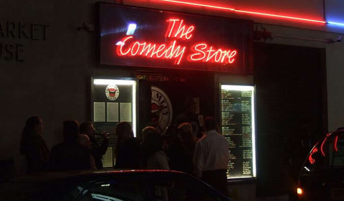 The Comedy Store in London