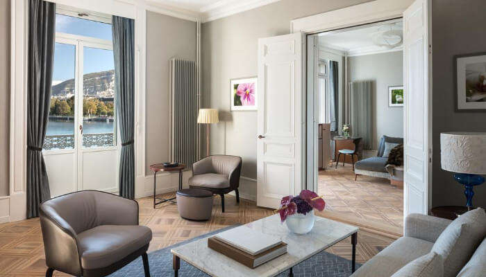 Ritz-Carlton Hotel in Geneva