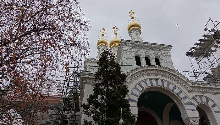 The Russian Church Of Geneva