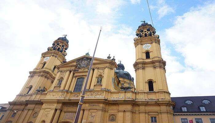 oldest churches in Munich