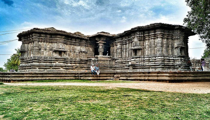 Famous Thousand Pillars Temple in Telangna