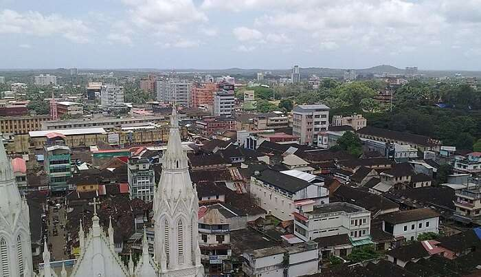 view of the city