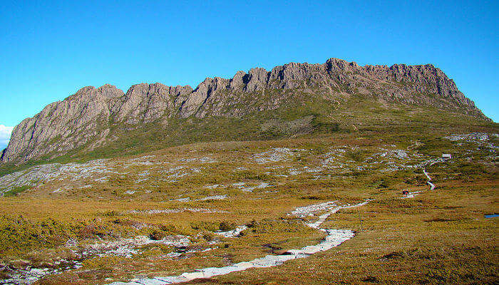 Trekking At The Overland Track