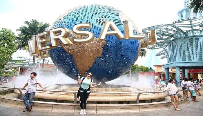 Universal Studios on Sentosa Islands