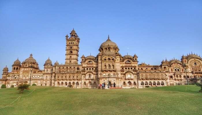 View of Vadodara palace