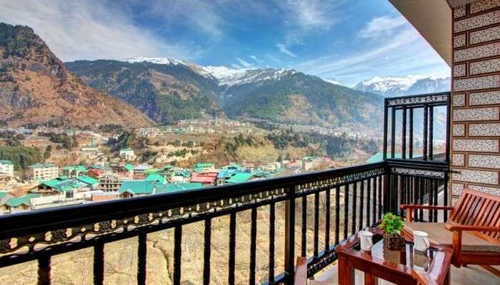 Best mountain landscape view resort