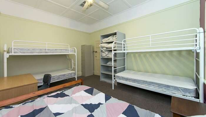 This hostel offers a homely and friendly budget accommodation