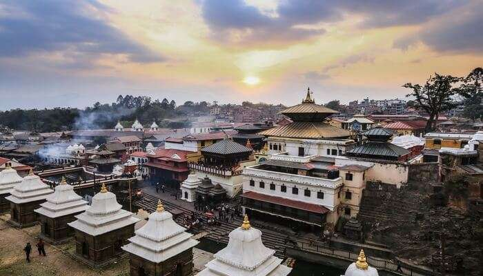 the famous temple of Nepal