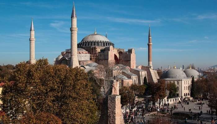 Visit The Iconic Hagia Sophia