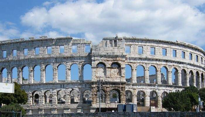 Visit The Pula Arena