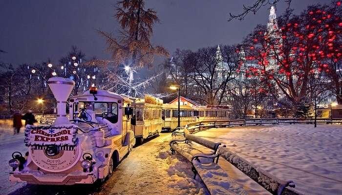 Weather During Winter In Vienna