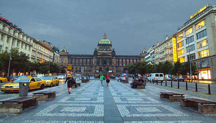 one of the top wenceslas square