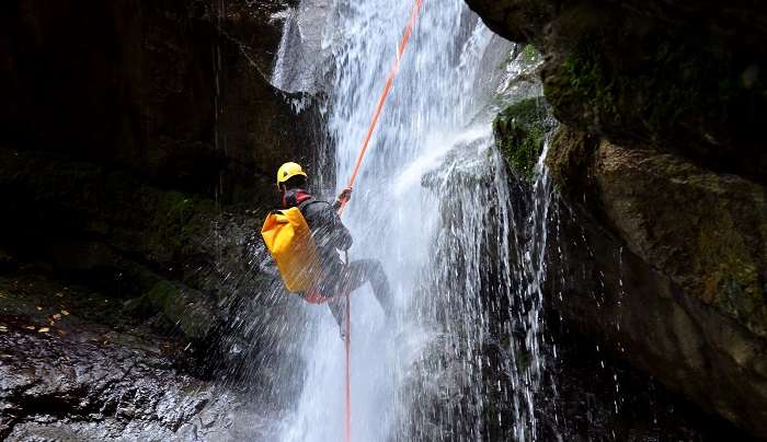 natural spot for enjoying Canyoning