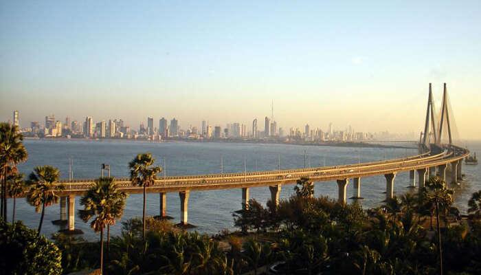 Famous Worli Island in Mumbai