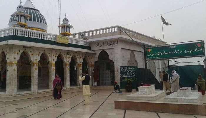 Baba Reshi Temple in Gulmarg