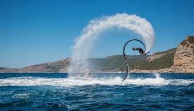 Flyboarding In Bali