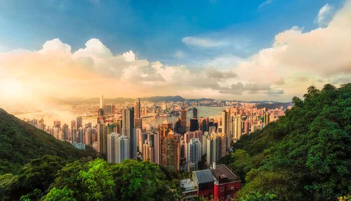 Hong Kong In June