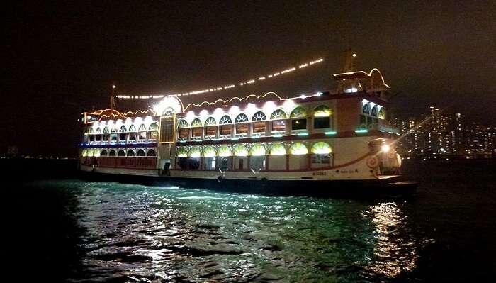 dinner cruise goa