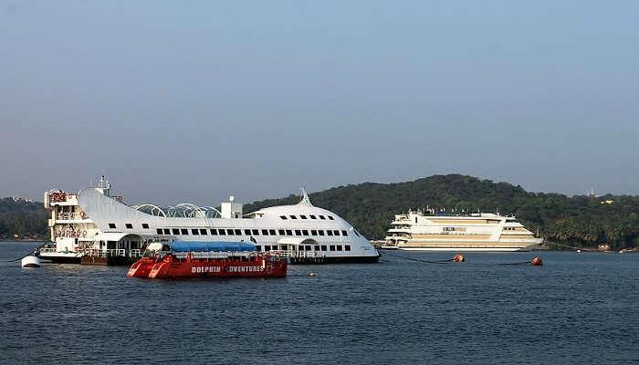 island cruise goa