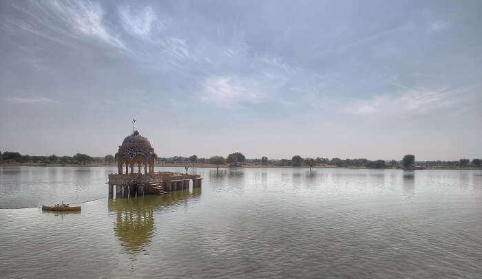 lake in jaisalmer