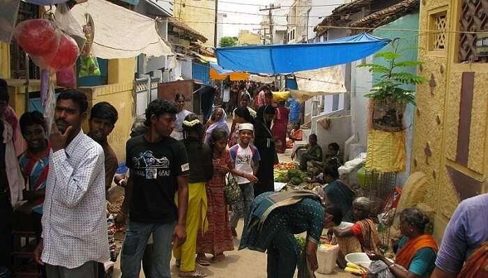 market in vellore