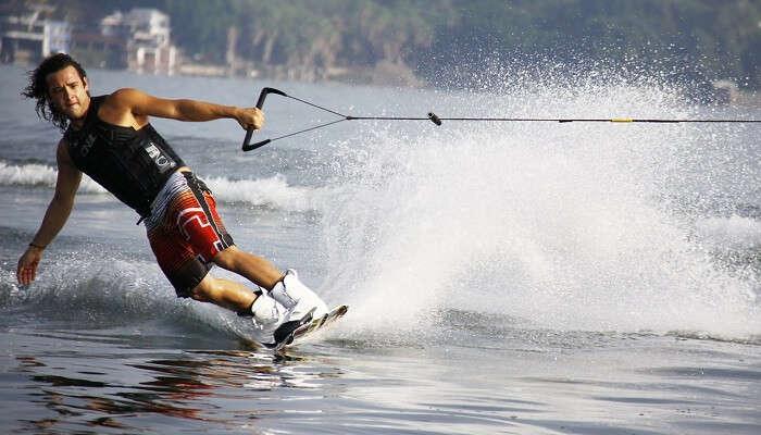 wakeboarding
