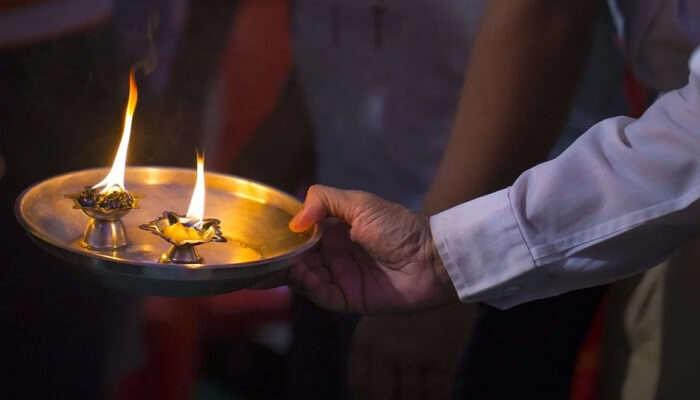 aarti thaali