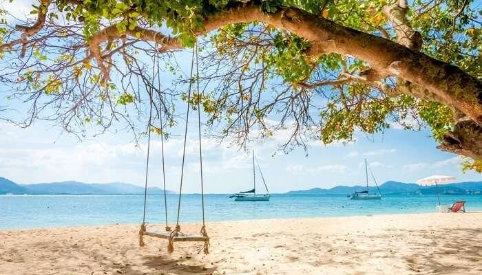 Rang Yai island In Thailand