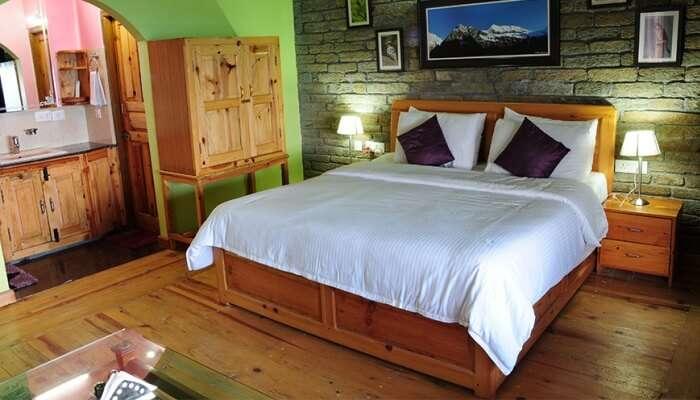 bedroom in resort