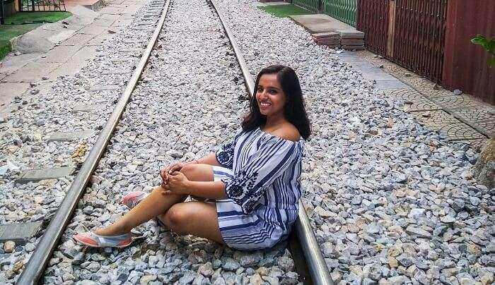 at Train street