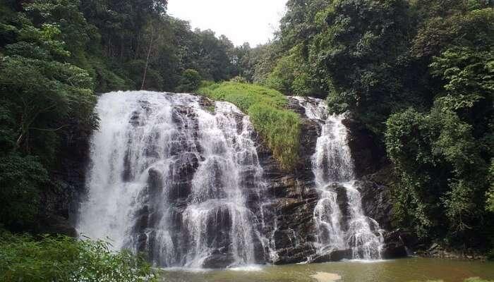 waterfall in coorg, Karnataka
