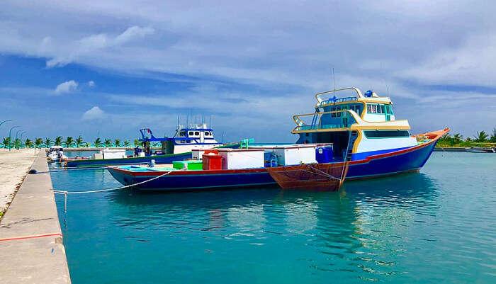Ship in Beach