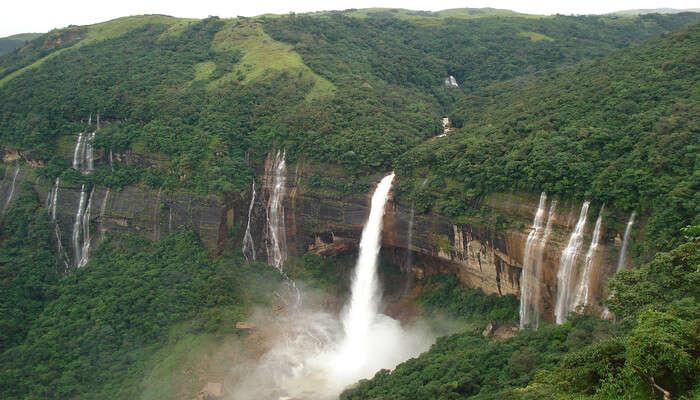 Akashiganga Waterfalls