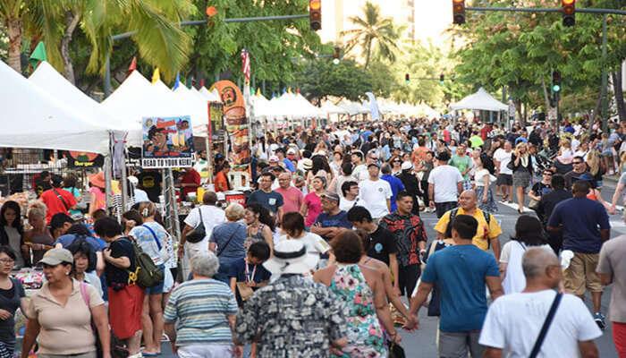 Annual Waikiki Hoolaulea
